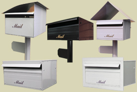 Residential letterboxes